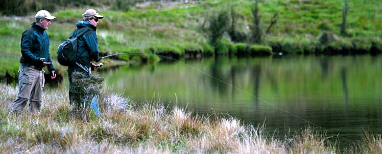Fishing in New Zealand