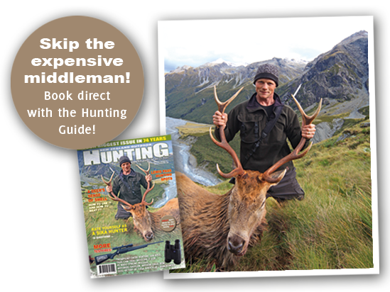 Book direct with the hunting guide!